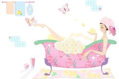 入浴法でこんなに変わる!冷え性女子の体質改善計画!