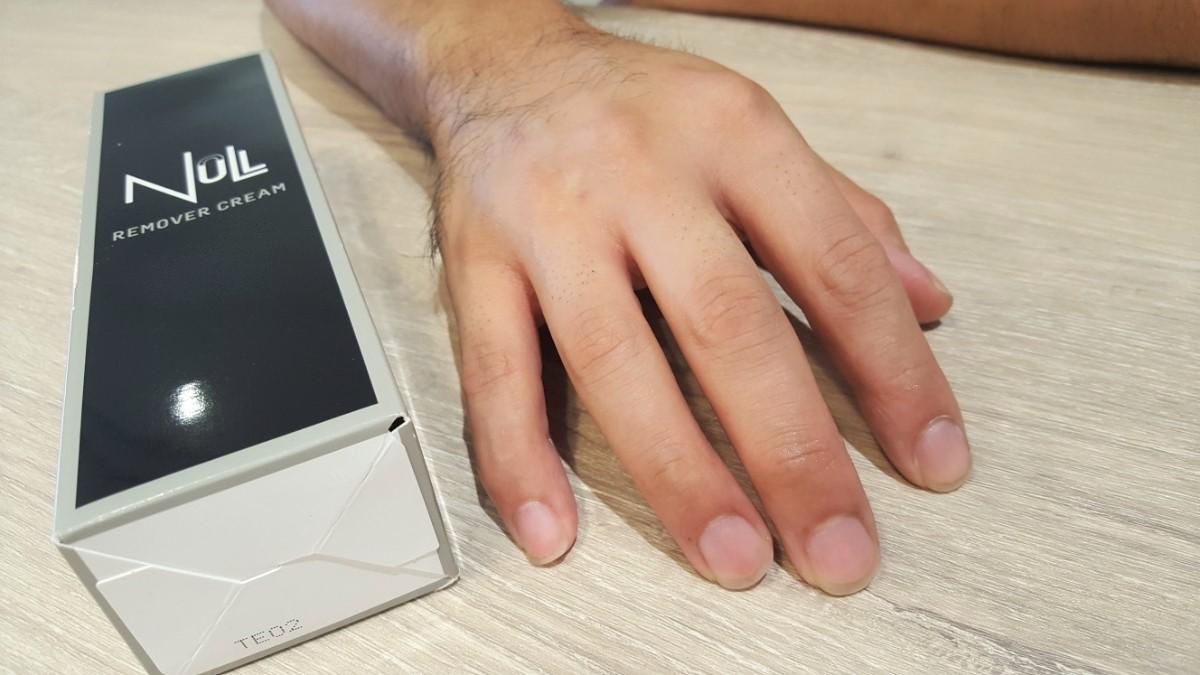 指毛除毛クリームの検証結果