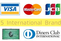 クレジットカードの5大国際ブランドを比較!特徴から選択しよう
