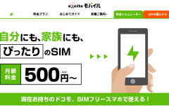 格安SIMのエキサイトモバイルの評判はどうなの?料金や申込方法は?