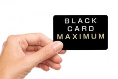 ブラックカードには利用額の上限がない、というウワサは本当なのか