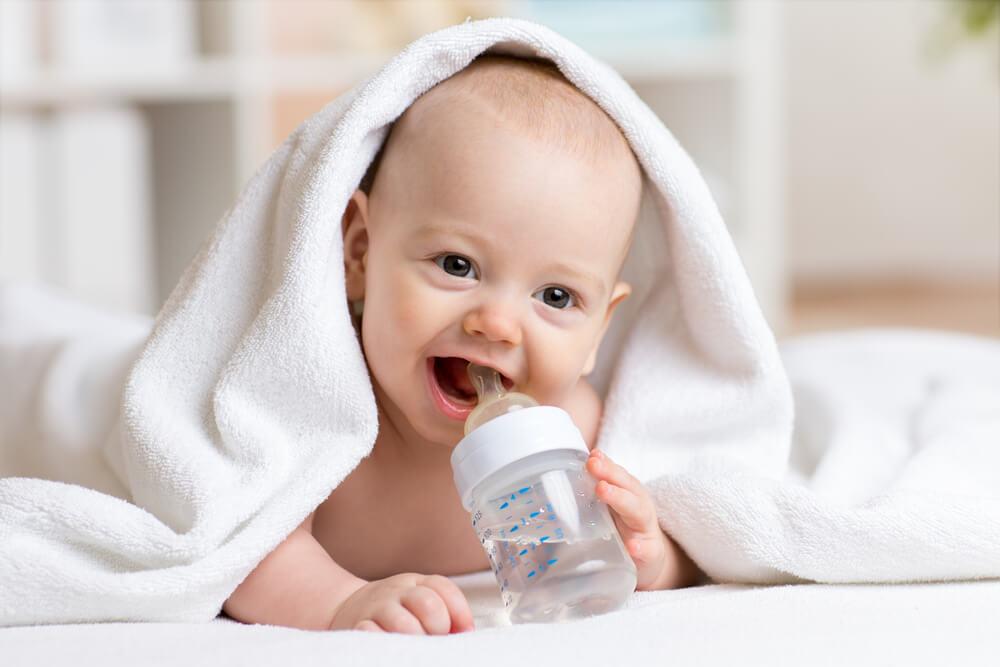 赤ちゃんのミルクにも使用できるほど安心安全な水
