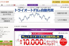FX取引にインヴァスト証券の『トライオート』は?キャンペーンや評判