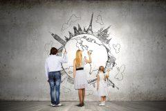 今注目されている【親子留学】とは??人気の国や費用などご紹介