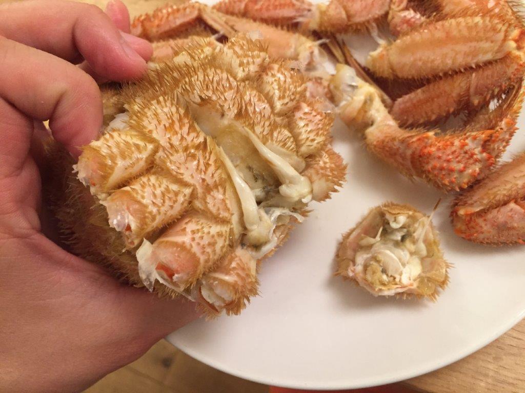 毛蟹の捌き方