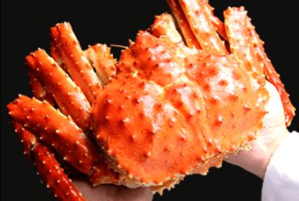 「蟹の匠」茹で上げ!本タラバガニ2.5kg前後