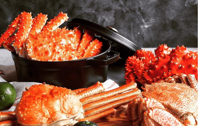 【完全生産限定】贅沢4大蟹食べ比べセット無添加(毛ガニ、タラバ、ズワイ、花咲)