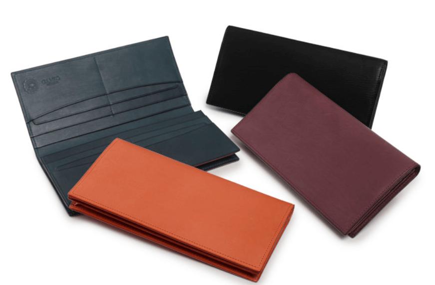 GANZO(ガンゾ)CALF NUME2 (カーフヌメ2)通しマチ長財布