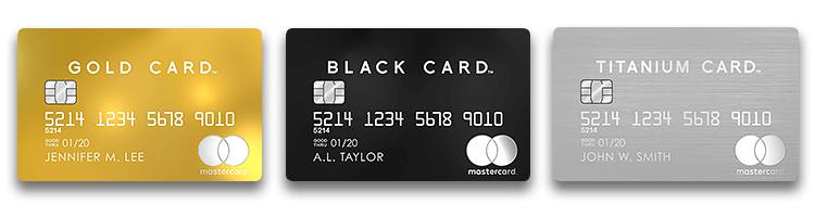 luxurycard素材とデザインの違い
