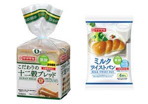 山崎製パン からだほほえむ食事パンシリーズ