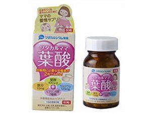 和田カルシウム製薬「ワダカルママ葉酸」の商品画像