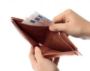 ナポレオンカーフ ボナパルトパース 二つ折り財布