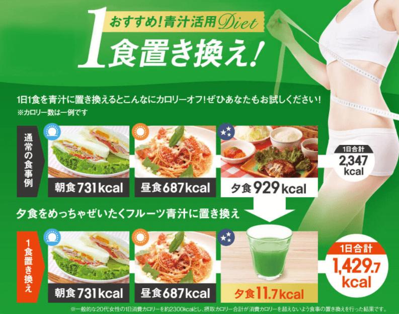 1食置き換えダイエット