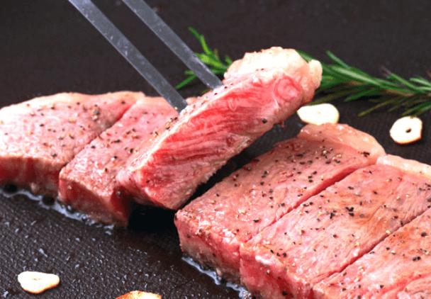 鹿児島黒牛ロースステーキ