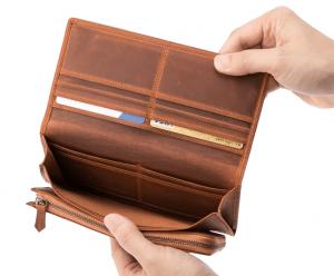 アレッジドウォレット 折りたたみ長財布
