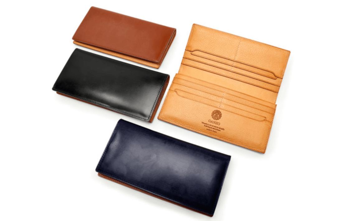 GANZO(ガンゾ)の一押し長財布 シンブライドル ファスナー付き長財布