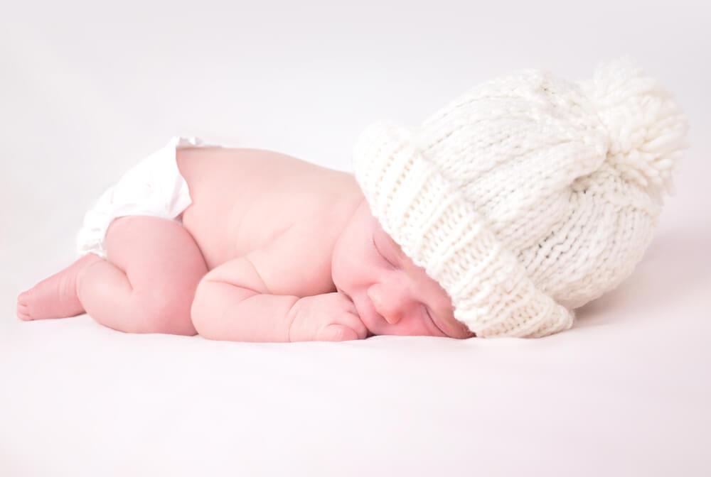 健康的な新生児の写真