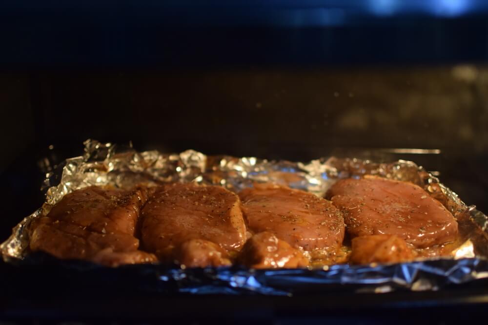 オーブンを使った焼き方