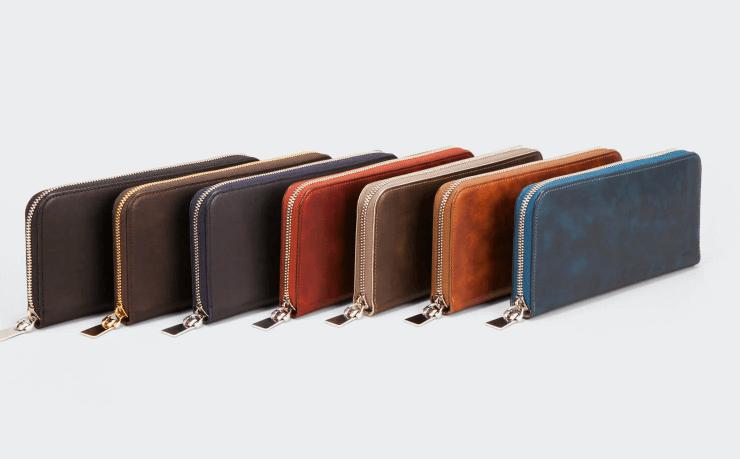 アニアリ 人気のジップ型の長財布に渾身のレザーを投入