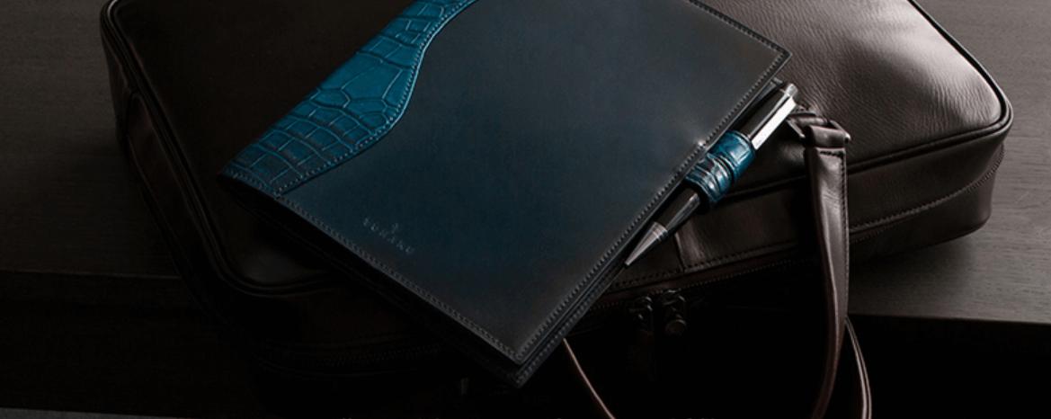 コードヴァン&クロコダイル A5サイズ手帳カバー YUP222