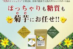 「菊芋のちから」「菊芋の粉」2種類のイヌリンサプリの評判を紹介!