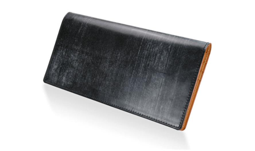 GANZO(ガンゾ)THIN BRIDLE (シンブライドル) 長財布 (1)