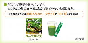 飲みごたえ野菜青汁 飲み方2