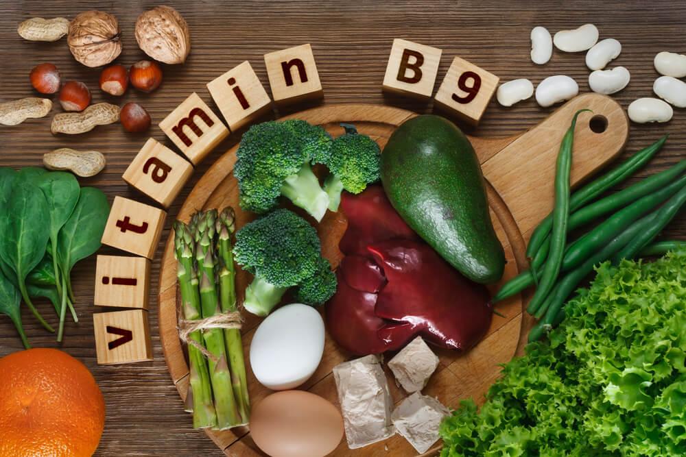 葉酸の多い食品の写真