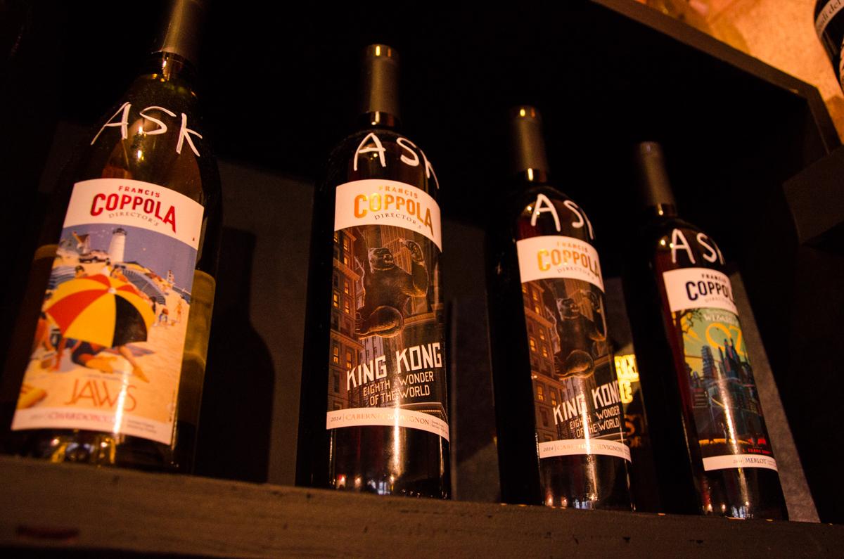 うさぎ食堂のカルフォルニアワイン