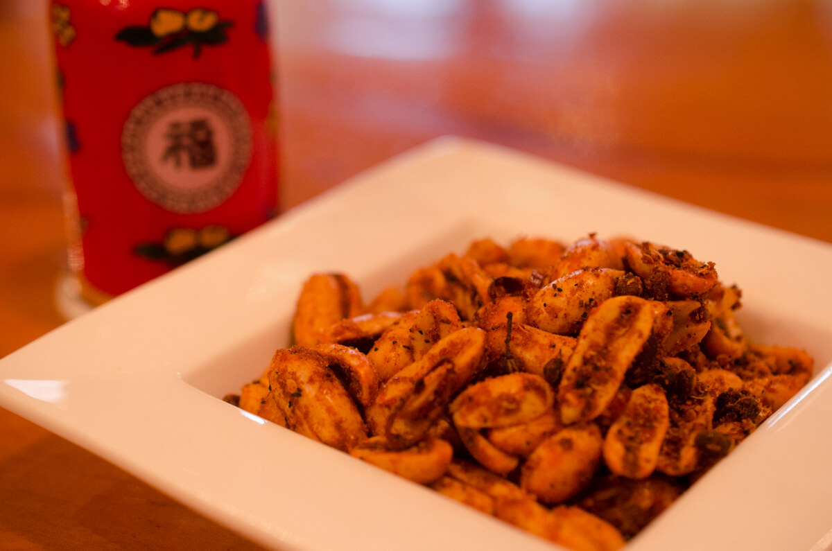 うさぎ食堂の麻婆ピーナッツ