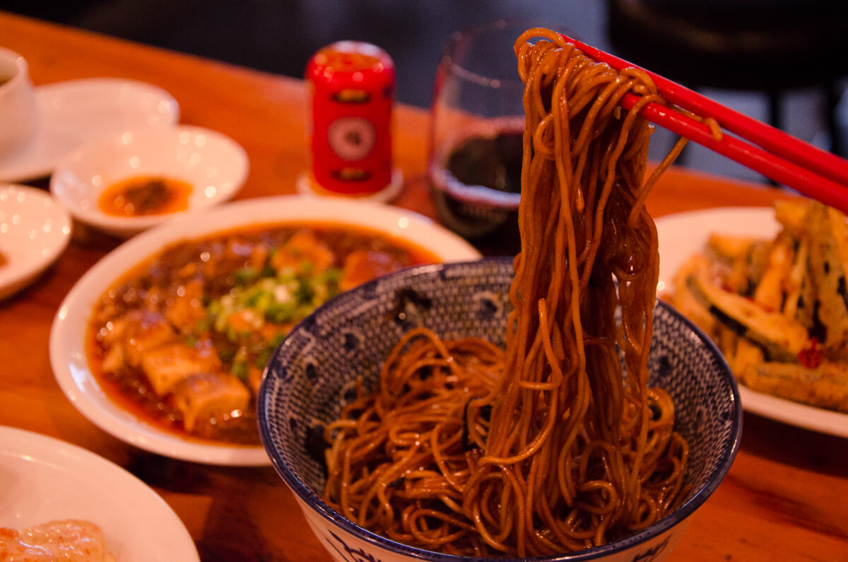 うさぎ食堂の元祖拌麺