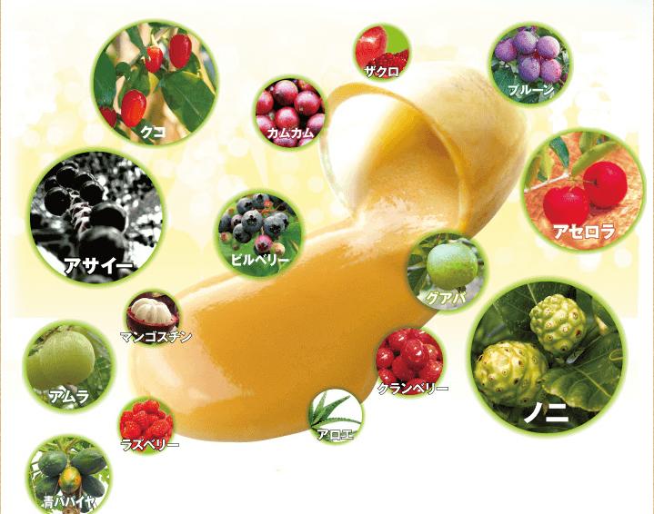 丸ごと熟成生酵素 スーパーフルーツ