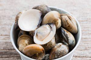 しじみや牡蠣