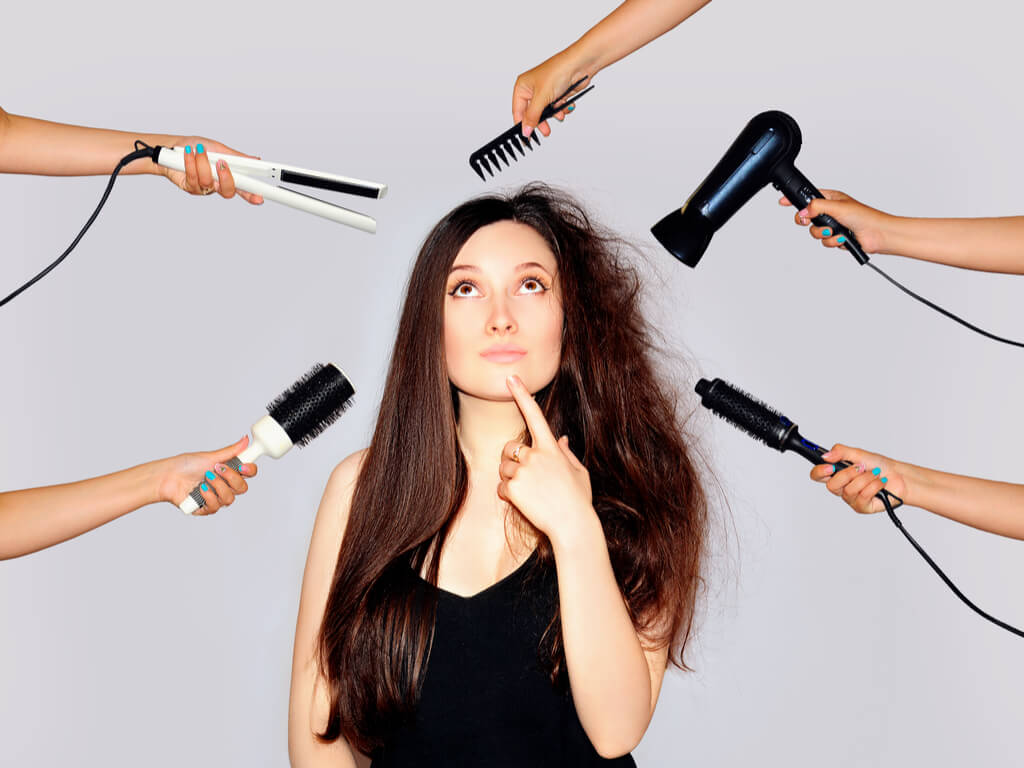 女性の髪の悩みと原因