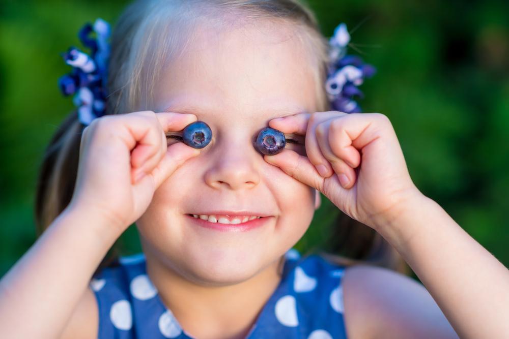 輝く瞳に!ブルーベリーの目への働き