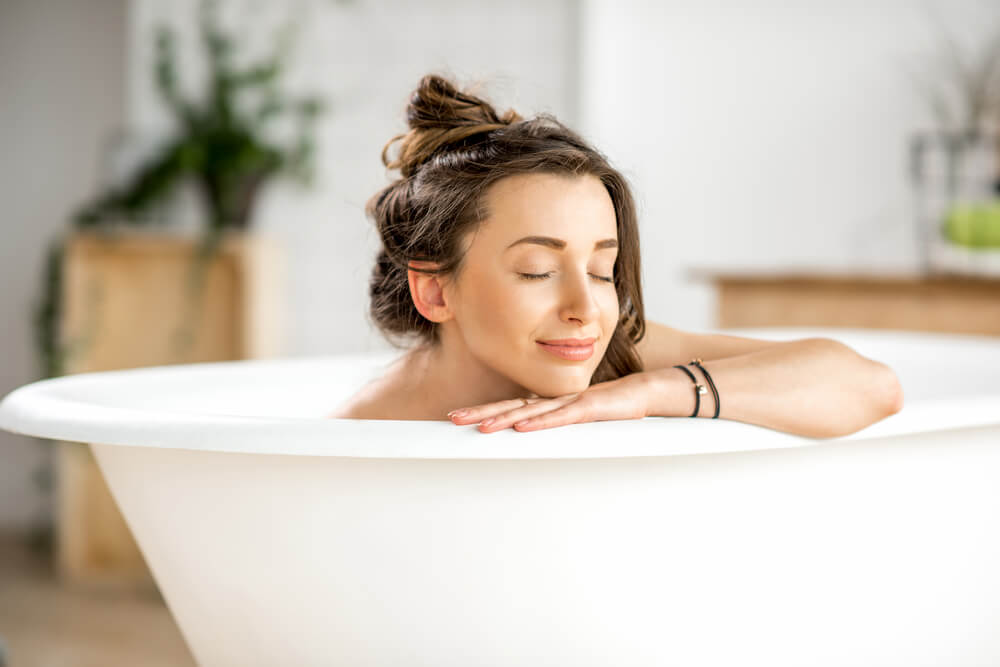 疲労のためのお風呂の温度