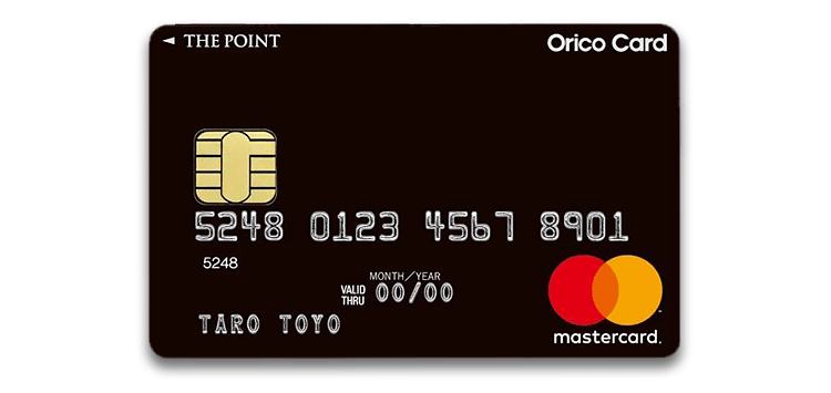 Orico Card THE POINTの券面
