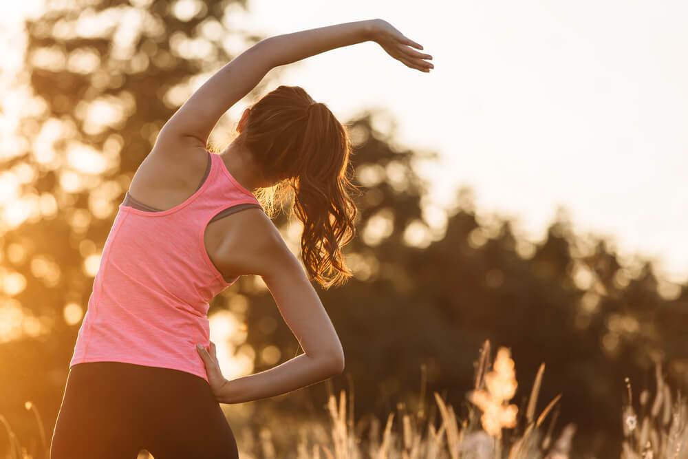 適度な運動をする