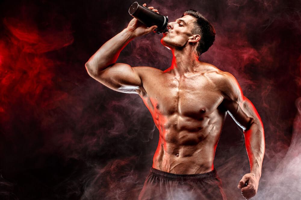 飲むだけで筋肉がつくの?