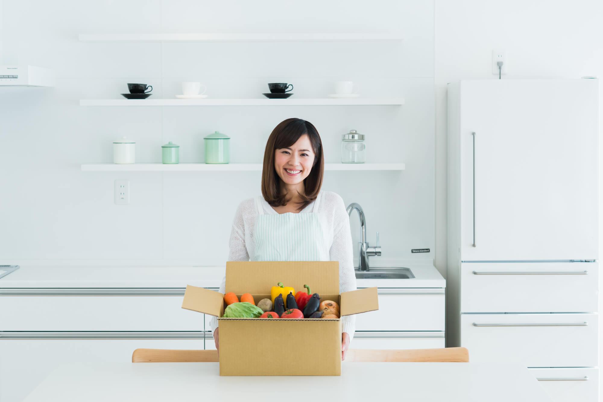 食材宅配でひとり暮らしに便利な宅配サービス5社を比べてみた!