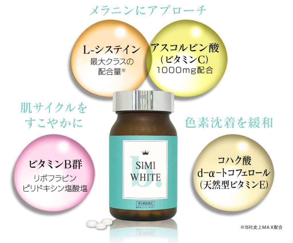 SIMIホワイト特徴