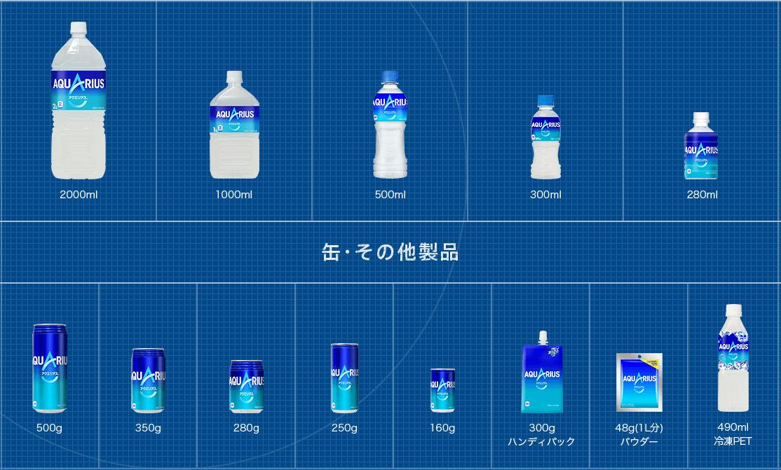 アクエリアス【コカ・コーラ】