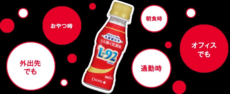 守る働く乳酸菌 L-92/カルピス