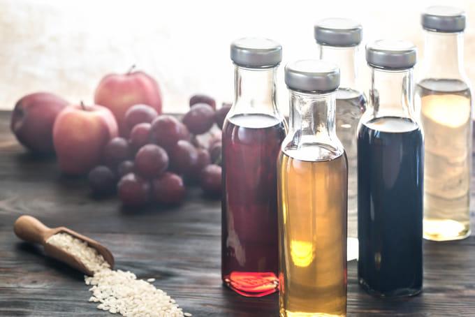 お酢の効果・効能 種類の違いやお酢ダイエットの方法&口コミもご紹介