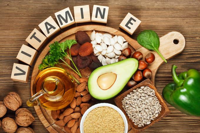 ビタミンEが豊富な食材を摂取する