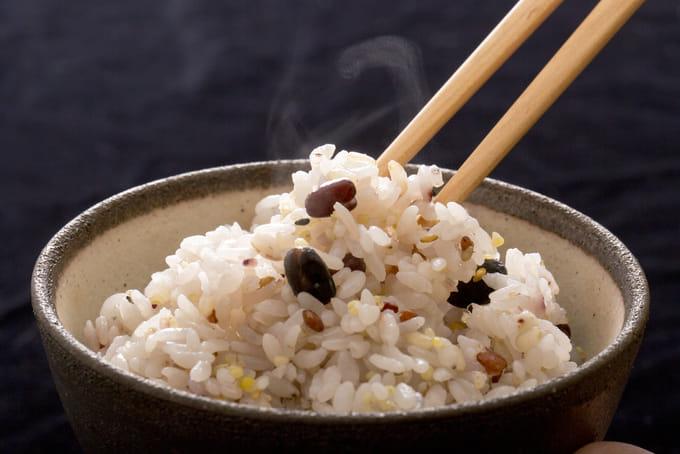 白米と混ぜて雑穀米に