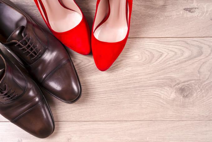 ハイヒールや革靴などを長時間履かない