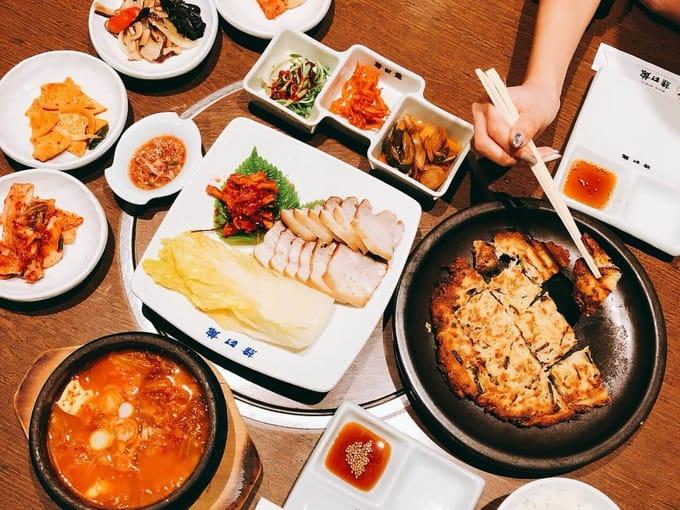 大阪ミナミで老舗の本当に美味しい韓国料理店「韓日館」