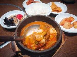 韓日館 キムチチゲ