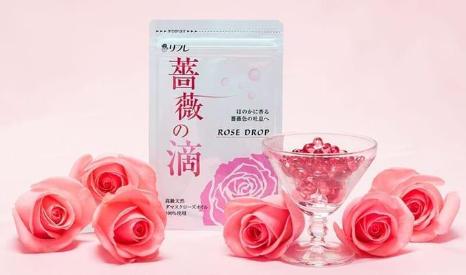 薔薇の滴|体からバラの香りがするサプリの効果と口コミ